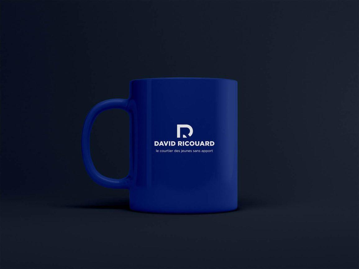 cup with logo
